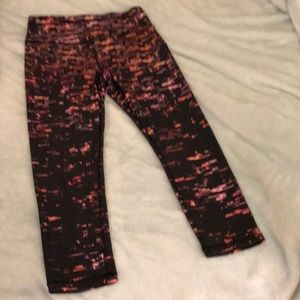 RBX performance cropped leggings